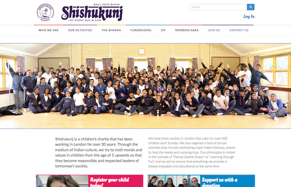 Shisukunj website screengrab